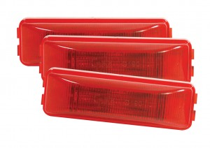 G1902-3 – Hi Count® 3-Diode LED Clearance Marker Light, Red, Bulk Pack