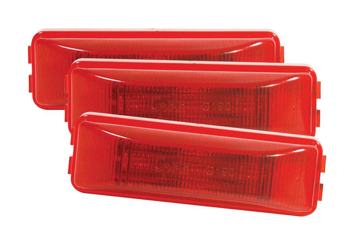 G1902-3 – Hi Count® 3-Diode LED Clearance Marker Light, Red, Bulk Pack