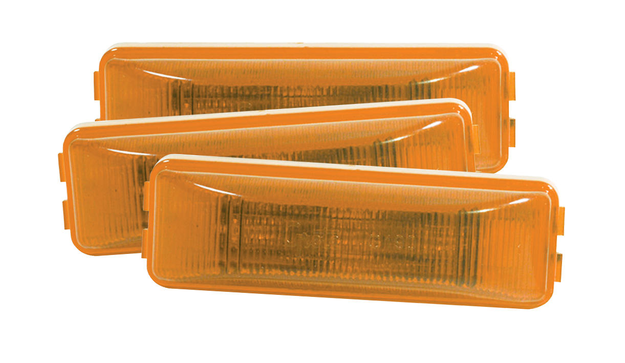G1903-3 – Hi Count® 3-Diode LED Clearance Marker Light, Yellow, Bulk Pack