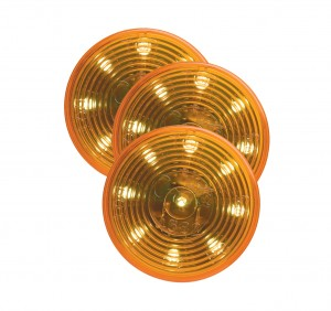 G3003-3 – Hi Count® 2″ 9-Diode LED Clearance Marker Light, Yellow, Bulk Pack