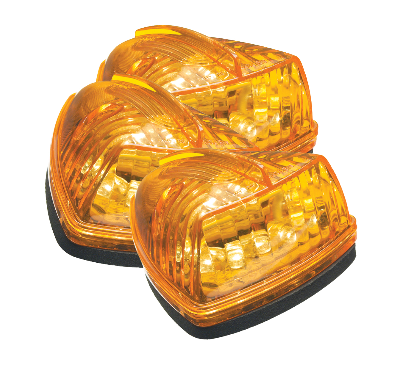Grote Industries - G5053-3 – Hi Count® School Bus Wedge LED Marker Light