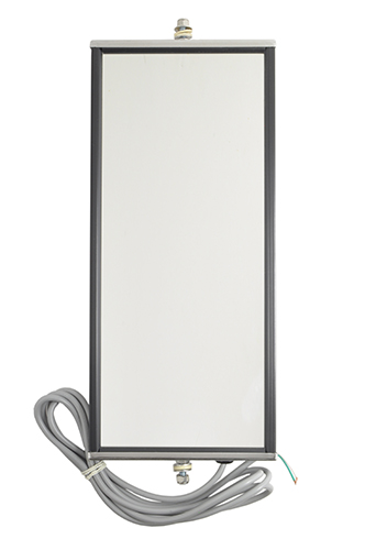 16053 – Ice & Frost-Free Heated West Coast Mirror, Stainless steel