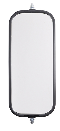 16102 – OEM-Style Bubble-Back West Coast Mirror, Black