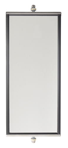 16123 – OEM-Style West Coast Box Mirror, 7″ x 16″ Length, Stainless Steel
