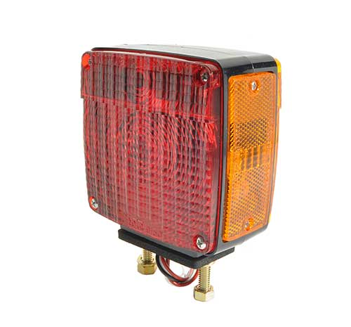 55410 – Two-Stud Light w/ Pigtail, RH, Red/Yellow