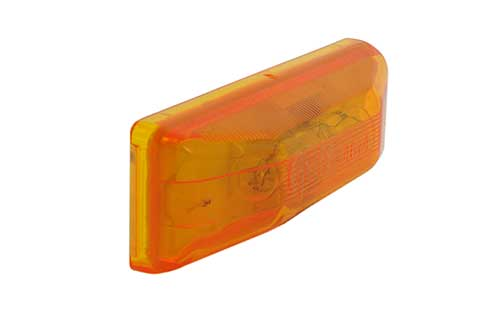46743 – Clearance / Marker Lamp, P2/P3/PC/PC2 Rated 12V, Yellow