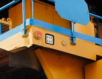 Luces Trilliant Grote en equipos de minería