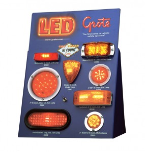 00931 – LED Counter Display, Counter Top Display
