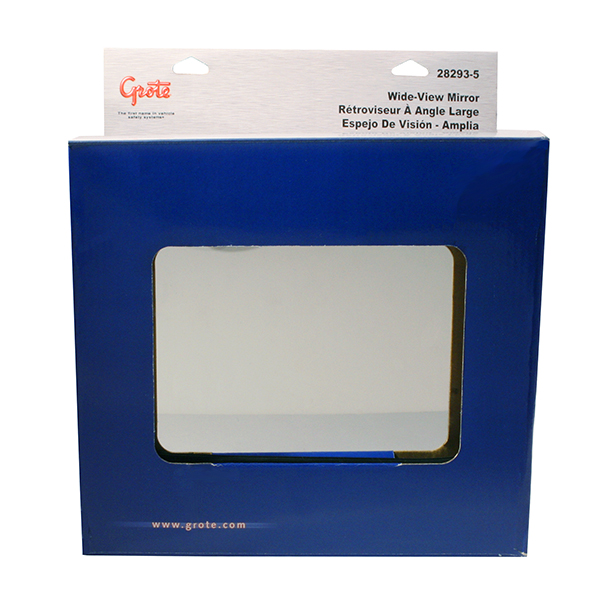 Grote Industries - 28293-5 – 50″ Wide-View Mirrors, Stainless Steel, Retail Pack