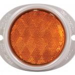 Reflector de acero con montaje de dos agujeros