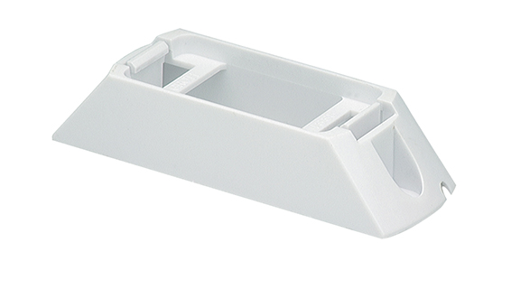 42141 – Header-Mount Bracket For Small Rectangular Lights, White
