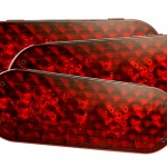 six inch oval stop tail turn lights