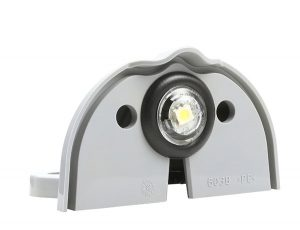 60381 – MicroNova® LED License Light, Gray