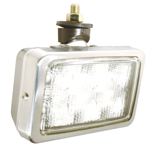 63661 – Trilliant® Mini LED WhiteLight™ Work Light, Per-Lux® Housing, Trapezoid, 700 Lumens, Stainless