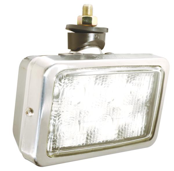 Grote Industries - 63661 – Trilliant® Mini LED WhiteLight™ Work Light, Per-Lux® Housing, Trapezoid, 700 Lumens, Stainless