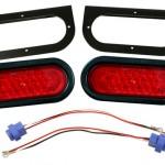 LED Oval Trailer Submersible Lighting Kit