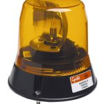Low-Profile Belt Drive Revolving Beacon, Yellow