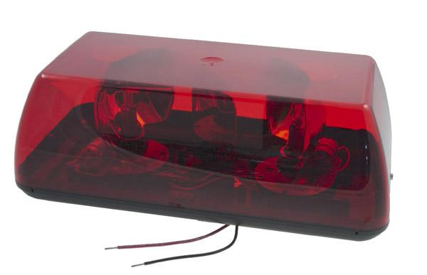 76802 15 Quot Rotating Mini Light Bar Gear Drive Red