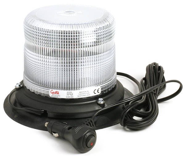 77321 – Compact Low Profile Strobe, Clear