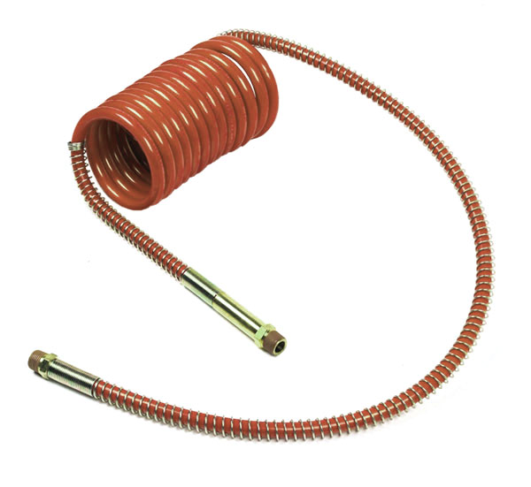 Grote Industries - 81-0015-40RC – Low Temperature Coiled Air, Working Length 15′, Leads 12″ & 40″, 1pk