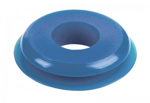 81-0112-100B – Seals, Polyurethane, Small Face, Blue, 100pk