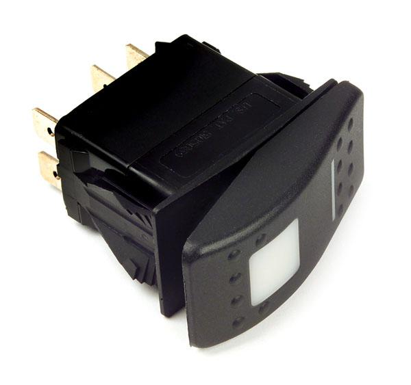 82-0310 – LED Rocker Switch – Sealed, Mom On/Off