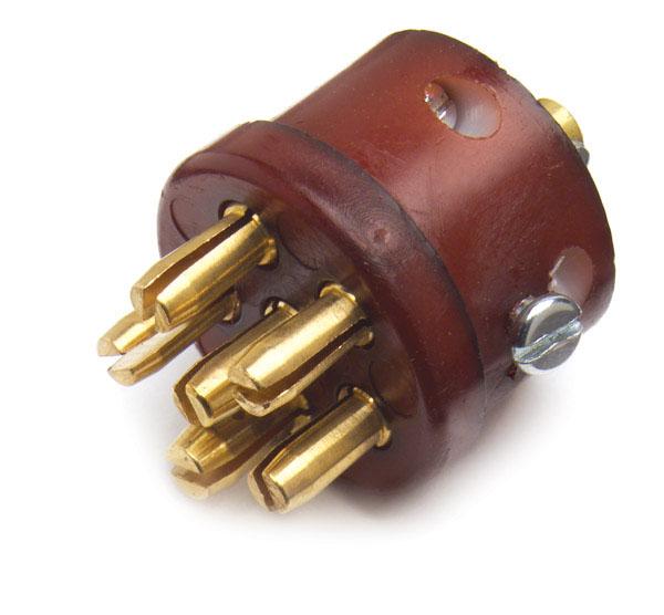 82-1017 – Heavy Duty 6-Way Connectors, Socket Interior – Replacement