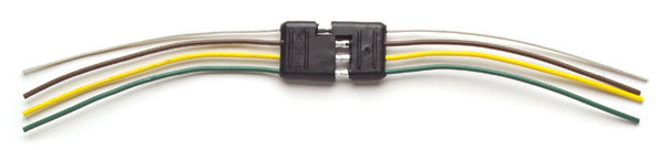 82-1030 – Molded Trailer Connectors, Male & Female, Flat