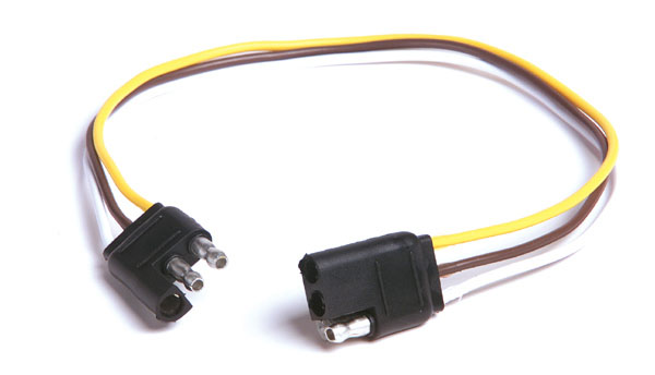 82-1033 – Molded Trailer Connectors, Male & Female, Flat