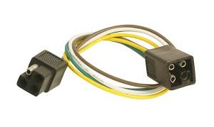 82-1036 – Molded Trailer Connectors, Male & Female, Square