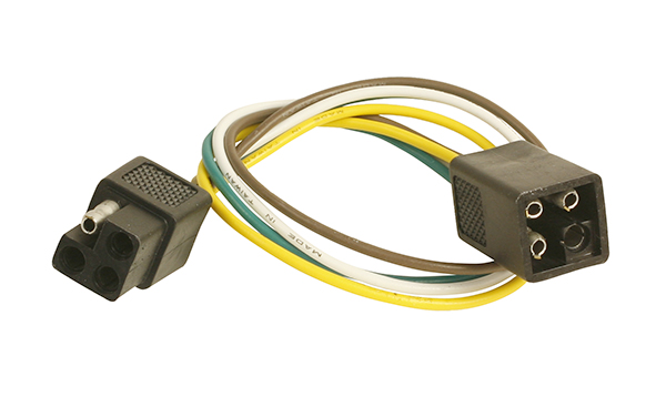 Grote Industries - 82-1036 – Molded Trailer Connectors, Male & Female, Square