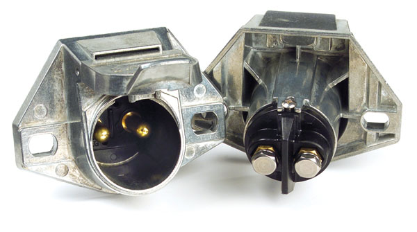 82-1041 – Heavy Duty 2-Way Socket & Plug Connectors, 2 Pole Socket