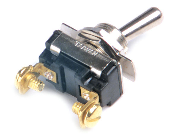 82-2116 – Toggle Switch, Heavy Duty, On/Off, 15A, 2 Screw
