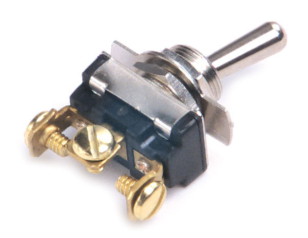 82-2118 – Toggle Switch, Heavy Duty, On/Off/On, 15A, 3 Screw