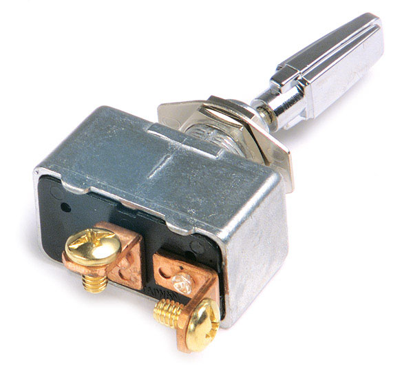 82-2120 – Toggle Switch, Extra Heavy Duty, On/Off, 35A, 2 Screw, 11/32″ x 15/32″