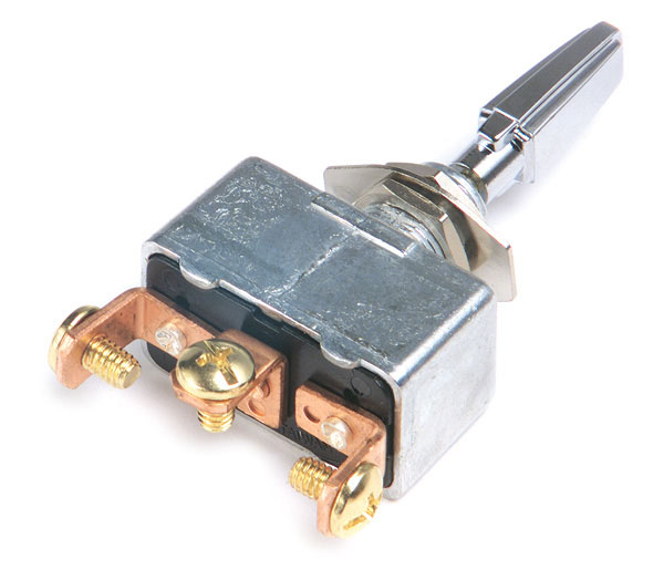 Grote Industries - 82-2125 – Momentary Toggle Switch, Mom On/Off/Mom On, 35A, 11/32″ x 15/32″, 3 Screw