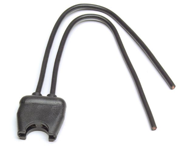 82-2164 – Fuse Holder – For Standard Blade Fuses, 12 GA, 20A, Black