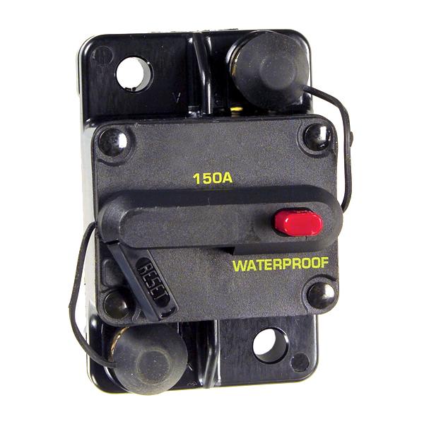 Grote Industries - 82-2176 – High Amperage Thermal Circuit Breaker, Single Rate, 150A