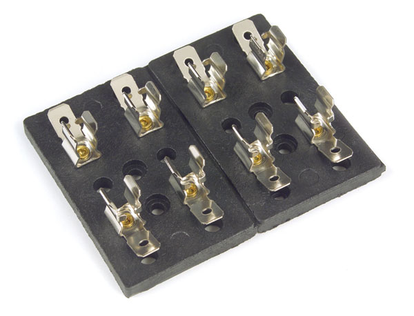 82-2301 – Fuse Block – Glass Fuse, 4 Fuse