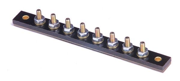 82-2313 - Placas de terminales - Tipo varilla roscada, 8 varillas roscadas