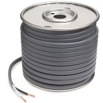 PVC Jacketed Brake Cable, 12 Gauge, Conductor 2, Wire Length 50′