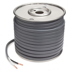 82-5512 - Cable de freno de PVC revestido, calibre 12, 2 conductores, cable de 50' de largo