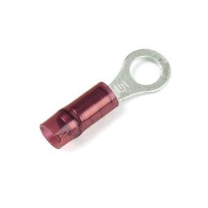 83-2206 – Nylon Ring Terminals, 22 – 16 Gauge, 1/4″ Stud Size, 50pk