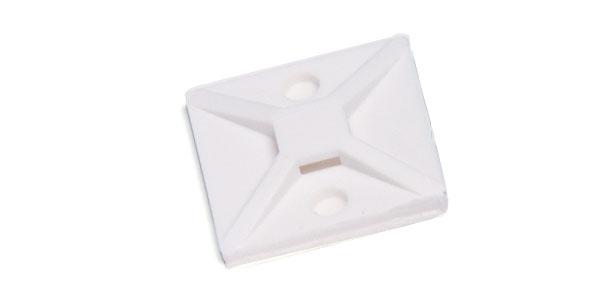 83-6031 – Cable Tie Mounting Base, Double Screw With Adhesive