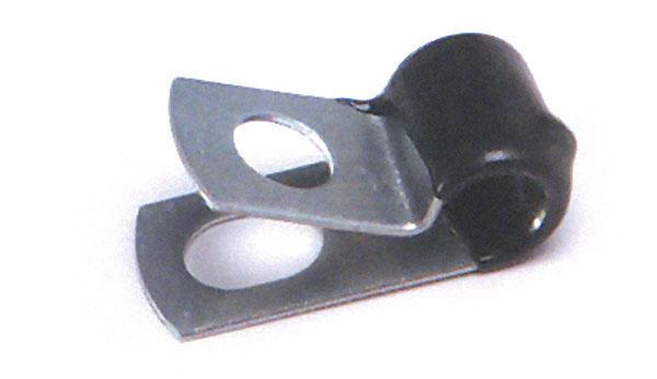 84-7010 – Vinyl Insulated Steel Clamp, 3/8″ Diameter, 15 Pack