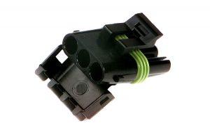 84-2009 – Weather Pack Connectors, Nylon Triple Cavity, Female