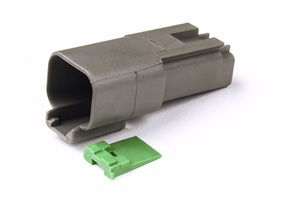 84-2470 – Deutsch – DT Series Housing & Wedgelocks, 2-Way Female Receptacle