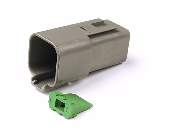 84-2476 – Deutsch – DT Series Housing & Wedgelocks, 6-Way Female Receptacle