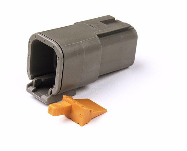 84-2491 – Deutsch – DTM Series Housing and Wedgelocks, 6-Way Male Plug