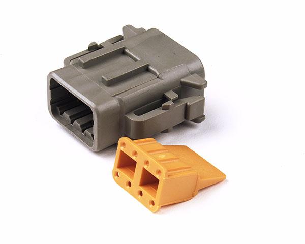 84-2493 – Deutsch – DTM Series Housing and Wedgelocks, 8-Way Male Plug